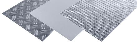 Aluminium plaatmateriaal