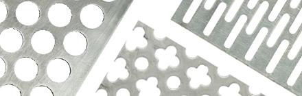 Aluminium geperforeerde platen