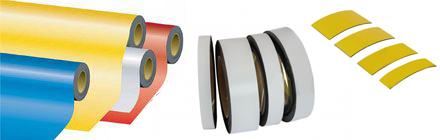 Magneetband en folie