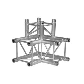 3-weg hoekdeel vierkant T-stuk | 30 serie | Medium - Truss