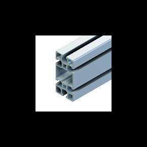 Geanodiseerde F-profiel   45x90mm - Minitec