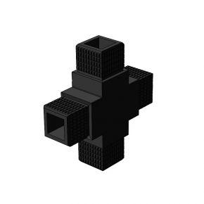 4-weg 001 (kruis) vierkant - Framebits