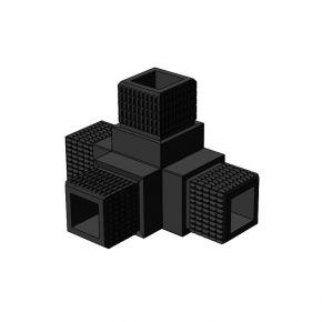 4-weg 002 vierkant - Framebits