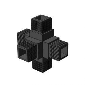 5-weg 001 vierkant - Framebits