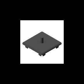 Einddop Z | 45x45mm - Minitec