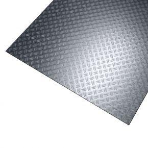 Aluminium traanplaat 2-traans gebeitst
