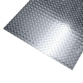 Aluminium traanplaat 2-traans ongebeitst
