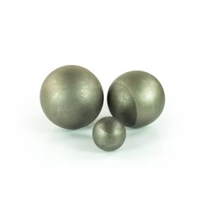 Hele holle bollen staal