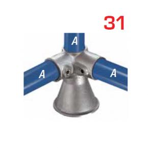 Kee Klamp Vaste Fittingen Type 31
