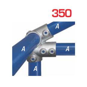 Kee Klamp Vaste Fittingen Type 350