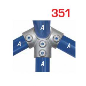 Kee Klamp Vaste Fittingen Type 351