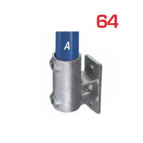 Kee Klamp Muur en Vloer Flenzen Type 64