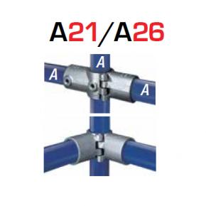 Kee Klamp Scharnierende Fittingen Type A21
